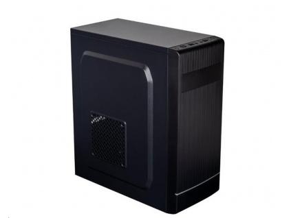 EUROCASE skříň ML X301 EVO black, micro tower, 1x USB 3.0, 2x USB 2.0, bez zdroje, MLX301-EVO