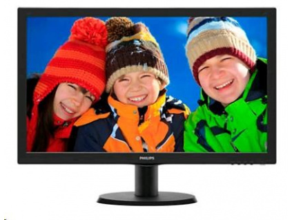 "Philips MT LED 21,5"" 223V5LSB 1920x1080, 250cd/m, 5ms, 10mil:1, D-Sub, DVI-D, 223V5LSB/00"