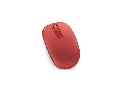 Microsoft myš Wireless Mobile Mouse 1850 Win 7/8 FLAME RED
