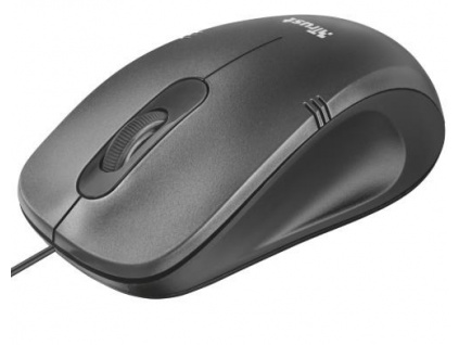 TRUST myš Ivero Compact Mouse - black/grey, 20404