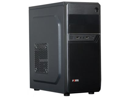 PORTE skříň MidT B26 / Middle tower / bez zdroje / 2x USB 2.0 / černá, B26