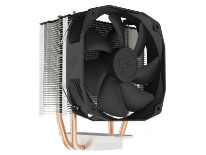 SilentiumPC chladič CPU Spartan 4/ ultratichý/ 100mm fan/ 2 heatpipes/ PWM/ pro Intel i AMD, SPC270