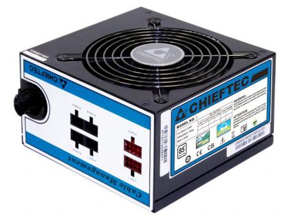 CHIEFTEC zdroj CTG-650C 650W, 12cm fan, akt.PFC, 85PLUS, cable management, CTG-650C