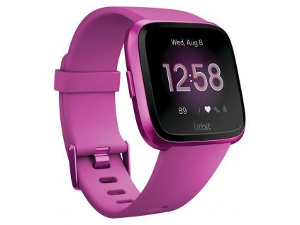 Fitbit Versa Lite - Mulberry/Mulberry Aluminum Chytré hodinky, FB415PMPM