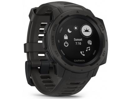 GARMIN GPS chytré hodinky Instinct Black Optic, 010-02064-00