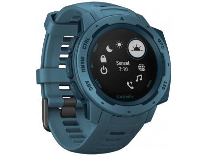 GARMIN GPS chytré hodinky Instinct Blue Optic, 010-02064-04