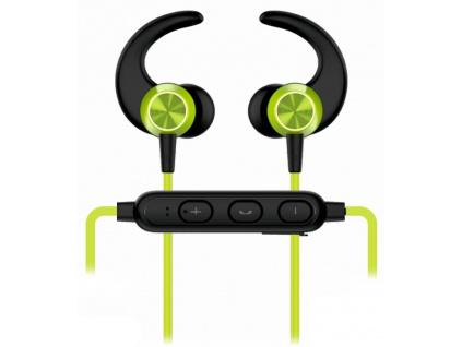 Swissten Sluchátka Bluetooth Active Limetkové