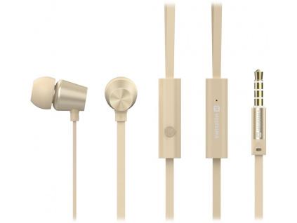 Swissten Sluchátka Earbuds Dynamic Ys500 Zlaté, 51107003