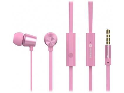 Swissten Sluchátka Earbuds Dynamic Ys500 Růžovo/Zlaté, 51107004