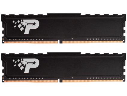 PATRIOT Signature Premium Line 16GB DDR4 2666MHz / DIMM / CL19 / 1,2V / Heat Shield / KIT 2x 8GB, PSP416G2666KH1