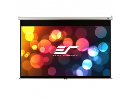 "ELITE SCREENS plátno roleta 80"" (203,2 cm)/ 4:3/ 121,9 x 162,6 cm/ Gain 1,1/ case bílý, M80NWV"