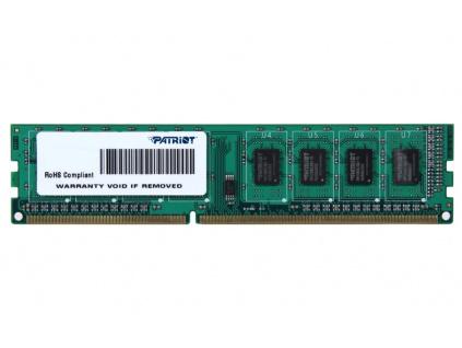 PATRIOT Signature 4GB DDR3 1600MHz / DIMM / CL11 / SL PC3-12800, PSD34G16002