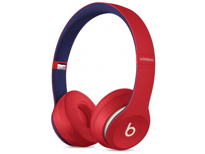 Beats Solo3 Bezdrátová sluchátka – Beats Club Collection – Club Red, mv8t2ee/a