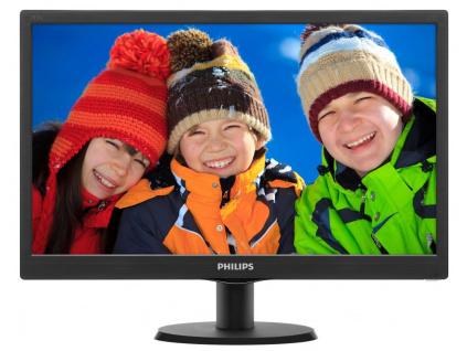 "PHILIPS 19,5"" LED 203V5LSB26/ 1366x768/ TFT/ 16:9/ 5ms/ 200cd/m2/ D-SUB/ VESA 100x100/ černý, 203V5LSB26/10"