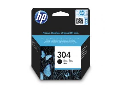 HP 304 Black Original Ink Cartridge, N9K06AE