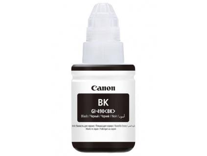 Canon inkoustová náplň GI-490PGBK/ Černá