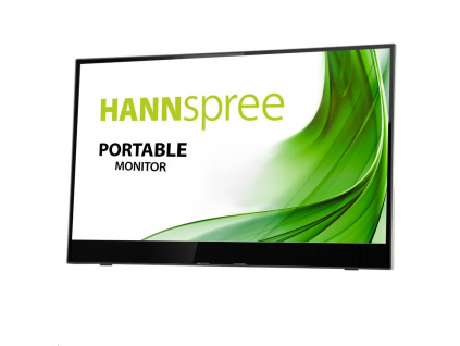 "Hannspree HL161CGB 15,6"" Portable monitor, 1920x1080, 16:9, 2x USB3.1, 1x Mini HDMI, HL161CGB2EX"