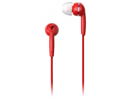 GENIUS headset HS-M320/ červený/ 4pin 3,5 mm jack, 31710005415