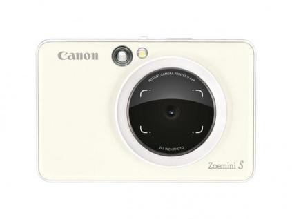 CANON Zoemini S - instantní fotoaparát - perleťová bílá