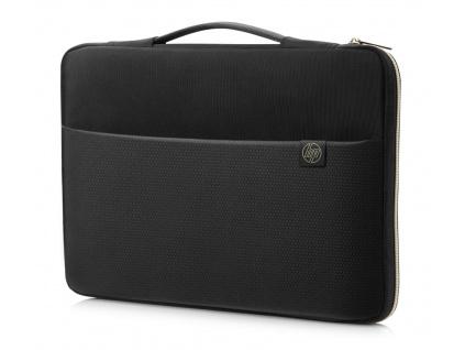 HP Carry Sleeve Black Gold 0b s