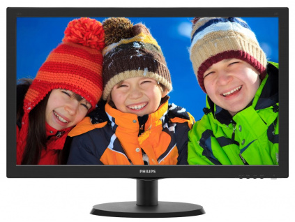 "PHILIPS 21,5"" LED 223V5LHSB2/ 1920x1080/ TN/ 16:9/ 5ms/ 200cd/m2/ HDMI/ D-SUB/ VESA 100x100, 223V5LHSB2"