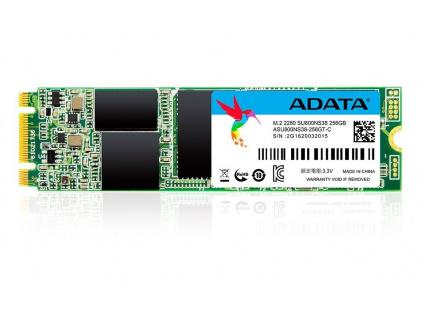 ADATA SU800 256 GB SSD / interní / M.2 / 80mm / SATA / 3D TLC, ASU800NS38-256GT-C