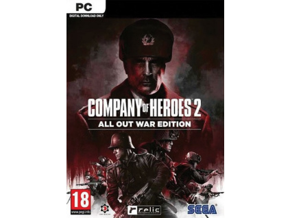 PC - Company of Heroes 2: All Out War Edition, 5055277039678