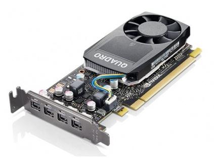 ThinkStation Nvidia Quadro P620 2GB GDDR5 LP, 4X60R60469