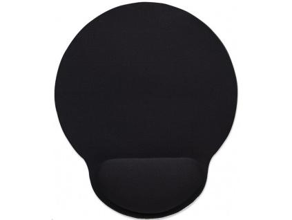 MANHATTAN Podložka pod myš, gelová, černá, 434362