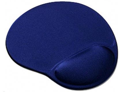OEM Podložka pod myš gelová (tmavě modrá, ergonomická), YS-M11