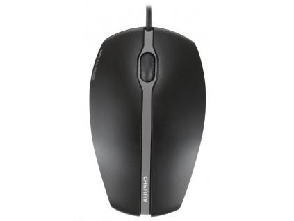 CHERRY myš Gentix Silent, USB, drátová, ultratichá, 1000 DPI, černá, JM-0310-2