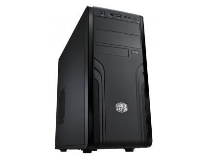 Cooler Master case Force 500, ATX, Mid Tower, černá, bez zdroje, FOR-500-KKN1
