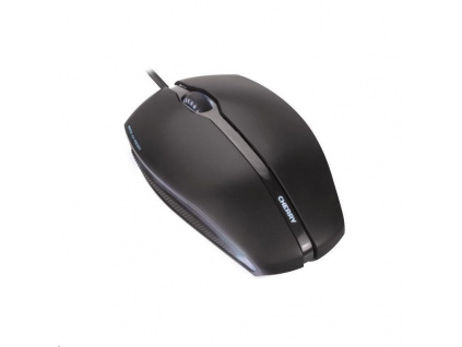 CHERRY myš Gentix, USB, drátová, černá s modrým podsvícením, JM-0300