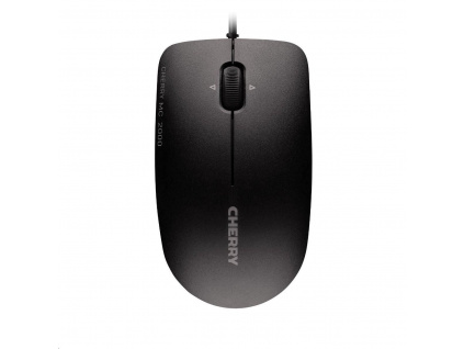 CHERRY myš MC 2000, infračervená, USB, drátová, černá, JM-0600-2