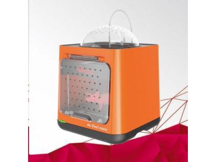 3D tiskárna XYZ da Vinci Nano (PLA,12x12x12cm,100-300 mikronů, USB 2.0,30 mm/s), 3FNAXXEU01B