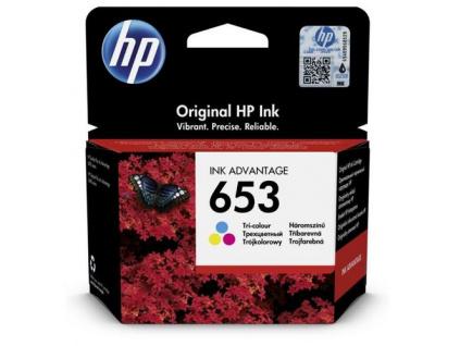 HP 3YM74AE náplň č.653 tří-barevná cca 200 stran (pro DJ 6075, 6475), 3YM74AE