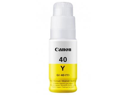 Canon inkoustová náplň GI-40 Žlutá, 3402C001