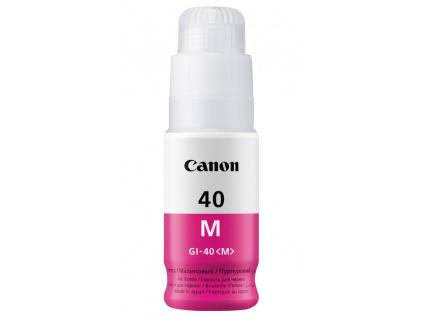 Canon inkoustová náplň GI-40 Purpurová, 3401C001