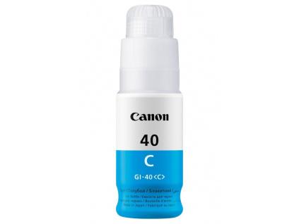 Canon inkoustová náplň GI-40 Modrá, 3400C001