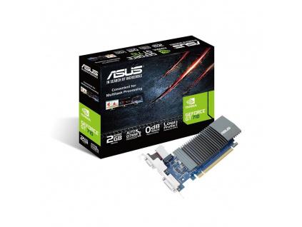 ASUS VGA NVIDIA GT710-SL-2GD5, 90YV0AL1-M0NA00