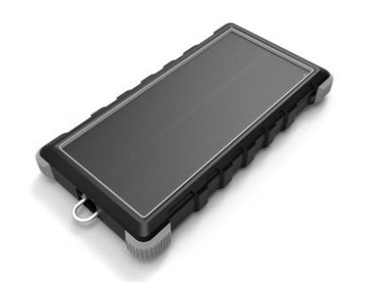 Solární powerbanka VIKING W10 10000mAh, Outdoorová s IP67, Podpora rychlonabíjení QC3.0, USB-C, VSPW10B