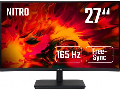 27'' Acer ED270RP - VA, FullHD@165Hz, 5ms, 250cd/m2, 16:9, HDMI, DP, FreeSync, UM.HE0EE.P01