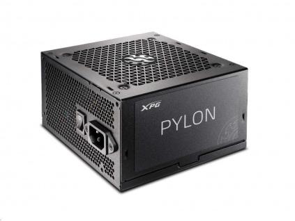 ADATA XPG zdroj PYLON 550W 80+ BRONZE, PYLON550B-BK