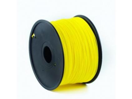GEMBIRD 3D PLA plastové vlákno pro tiskárny, průměr 1,75 mm, žluté, 3DP-PLA1.75-01-Y, 3DP-PLA1.75-01-Y
