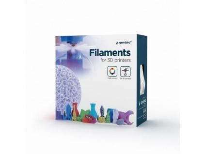 GEMBIRD 3D PETG plastové vlákno pro tiskárny, průměr 1,75 mm, žluté, 3DP-PETG1.75-01-Y, 3DP-PETG1.75-01-Y