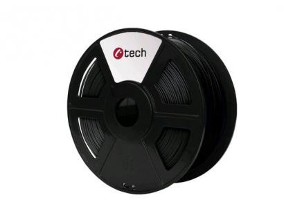 C-TECH tisková struna ( filament ) , HIPS, 1,75mm, 1kg, černá, 3DF-HIPS1.75-BK