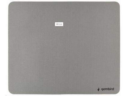 GEMBIRD Podložka pod myš látková šedá, MP-S-G
