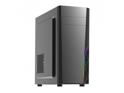 case Zalman miditower T8, mATX/ATX, bez zdroje, USB3.0, černá, T8
