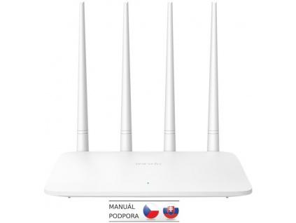 Tenda F6 WiFi N Router 802.11 b/g/n, 300 Mbps, Universal Repeater / WISP / AP, 4x 5 dBi antény, F6