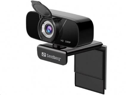 Sandberg USB kamera Webcam Chat 1080p, černá, 134-15